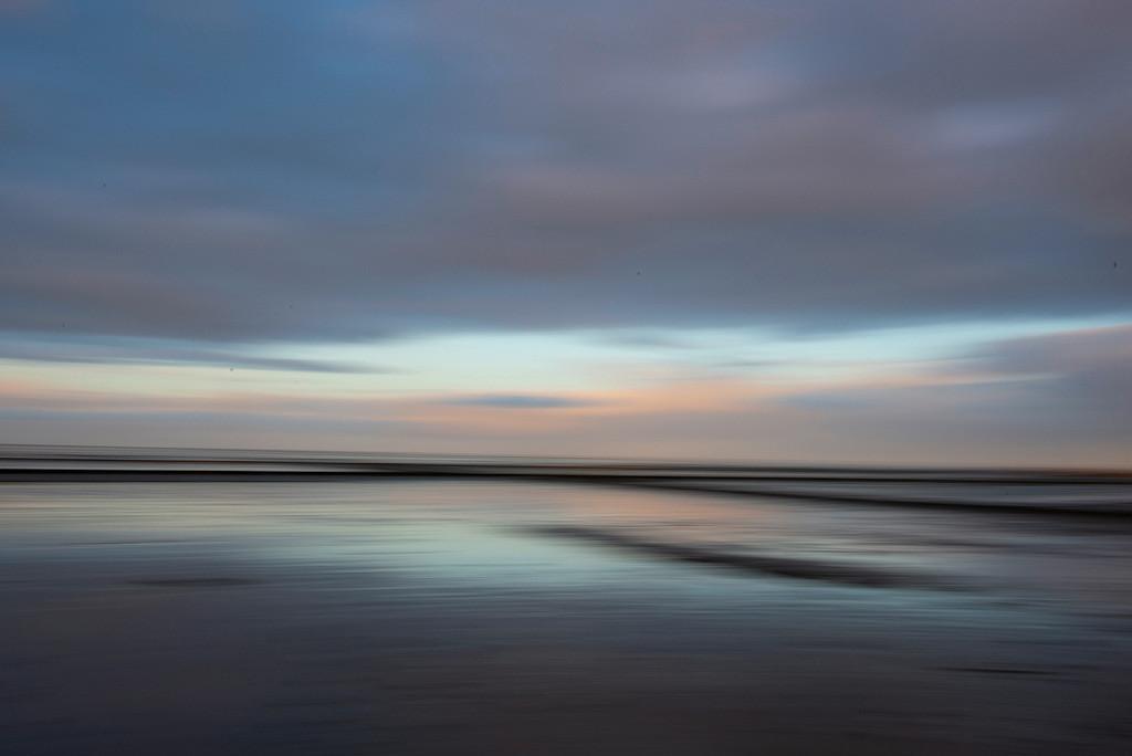 Impression von Abendstimmung | Abendimpression vom Wattenmeer, Sylt