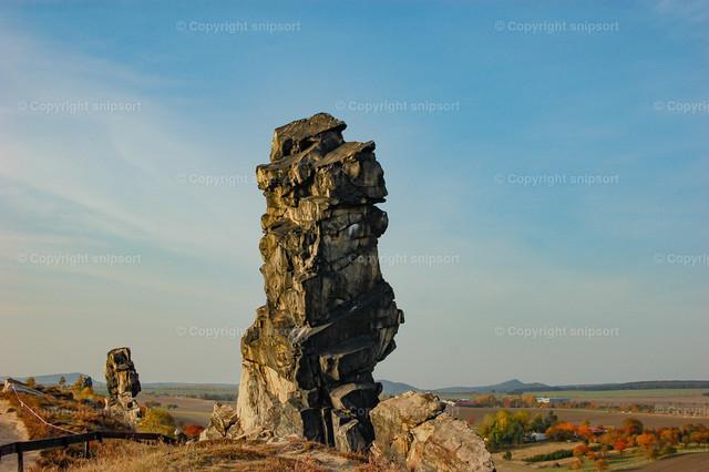 Teufelsmauer in Harz (Fragment)