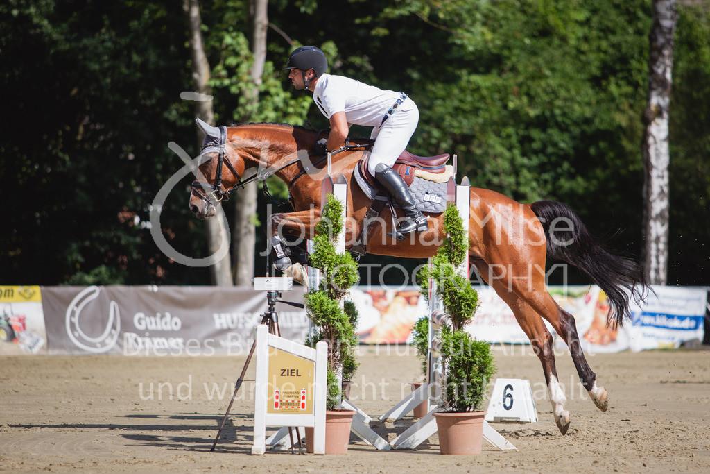 200819_Delbrück_Sprpf-A_1_2-035 | Delbrück Masters 2020 Springpferdeprüfung Kl. A* 4jährige Pferde