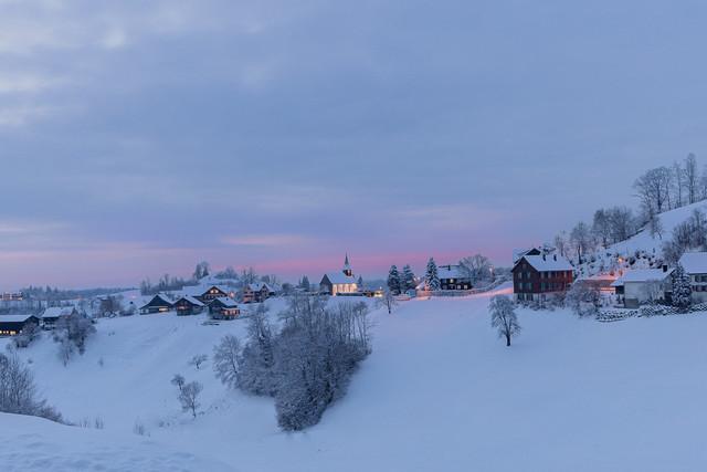 Sternenberg, Winterlandschaft