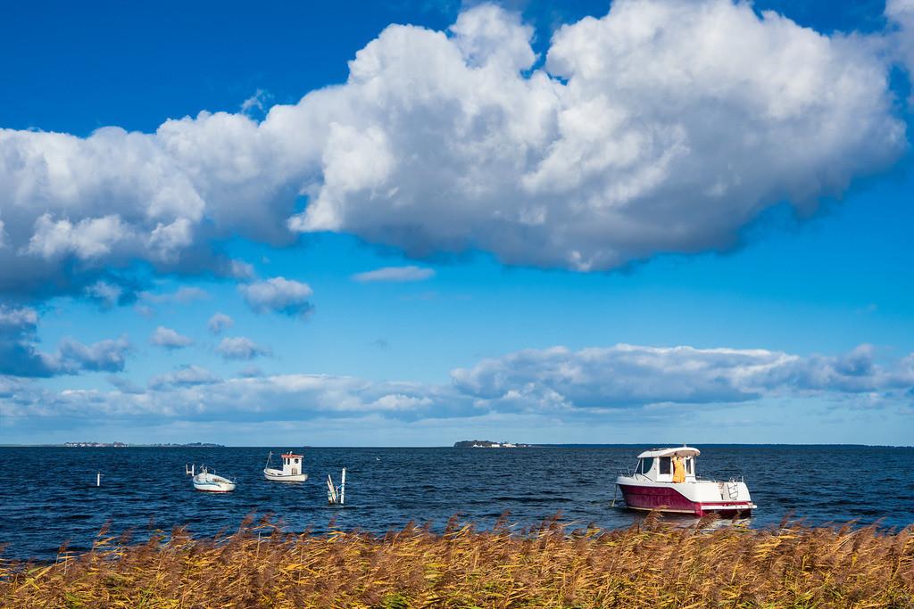 Boote auf der Ostsee in Dänemark | Boote auf der Ostsee in Dänemark.