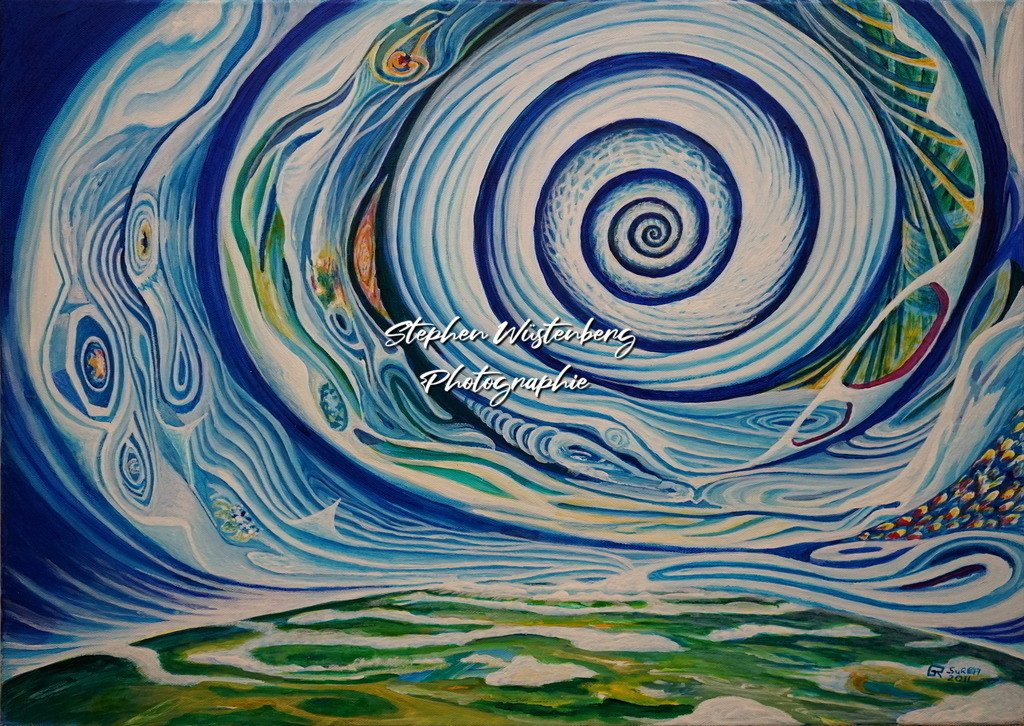 Gingel-0019 Spiralkraft | Roland Gingel Artwork @ Gravity Boulderhalle, Bad Kreuznach