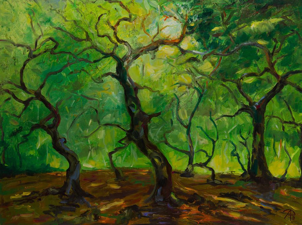 Tanzende Bäume | Originalformat: 00x00cm  -   Produktionsjahr: 2018