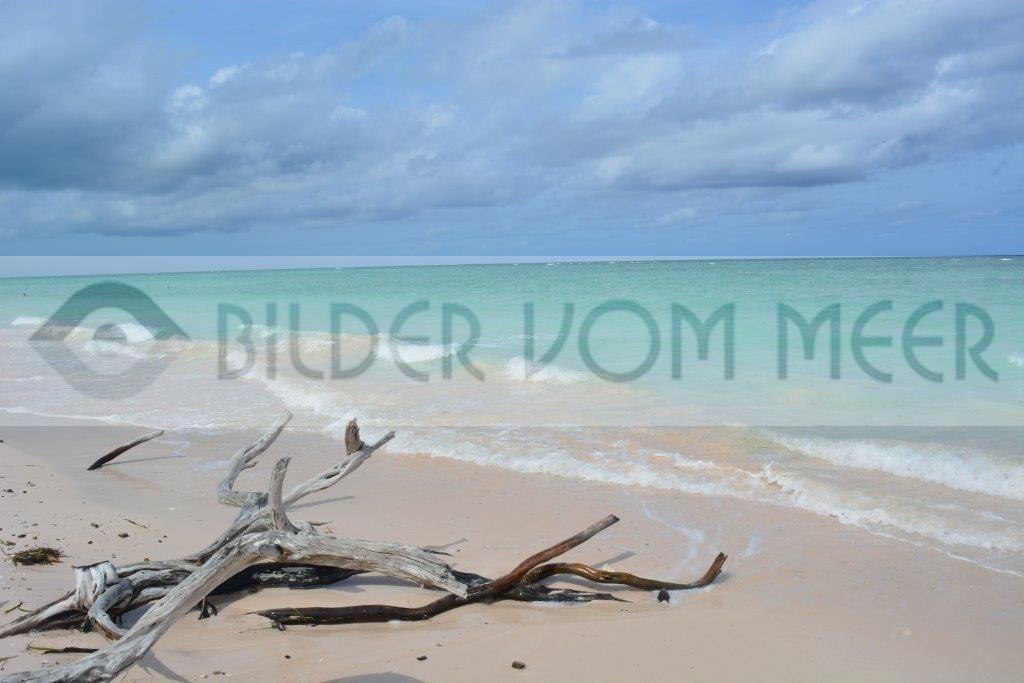 Strand Bilder Karibik | Allein am Kuba Strand