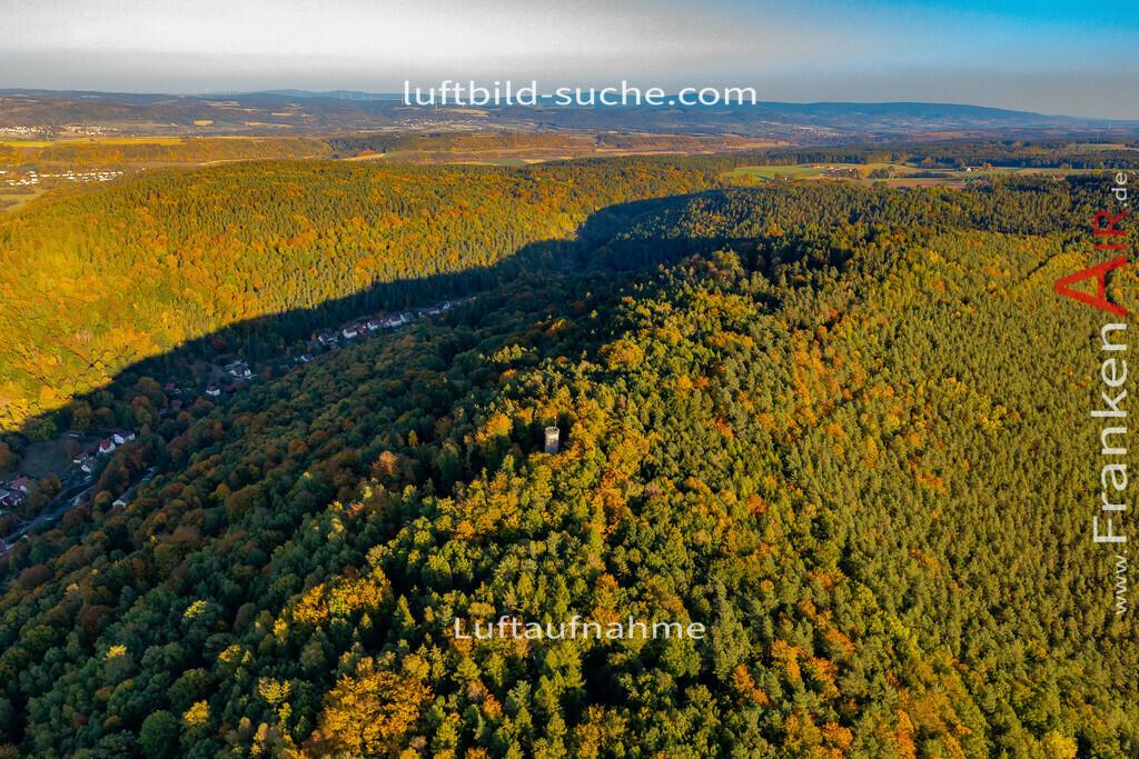 rehturm-kulmbach-18-389 | aktuelles Luftbild von Rehturm Kulmbach - Luftaufnahme wurde 2018 von https://frankenair.de mittels Flugzeug (keine Drohne) erstellt.