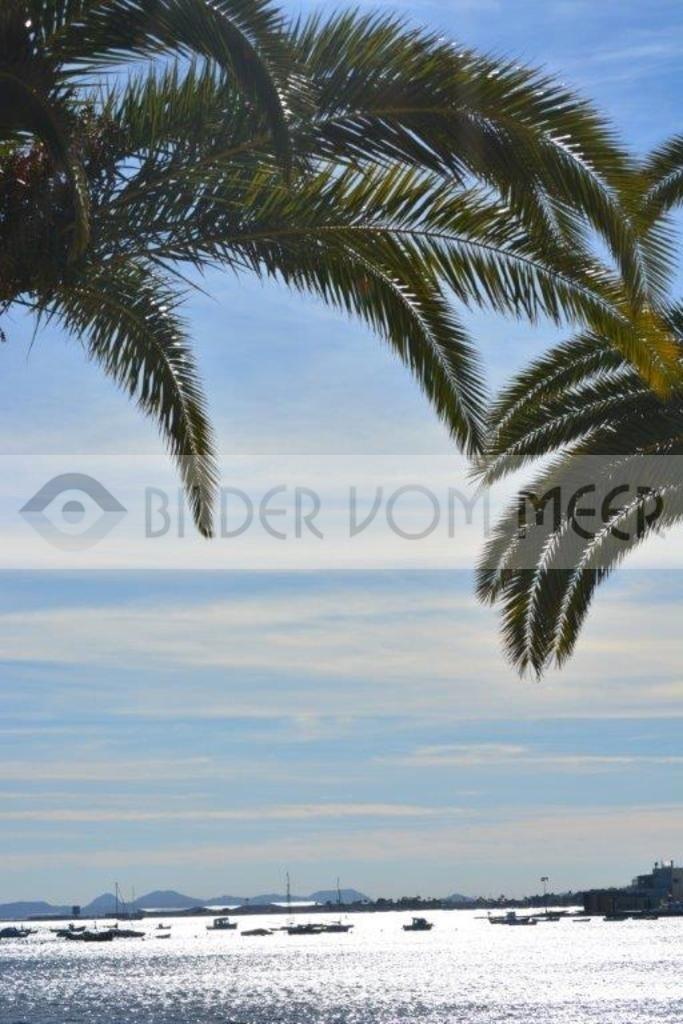 Strand Bilder vom Meer | Blick von der Promenade aufs Meer