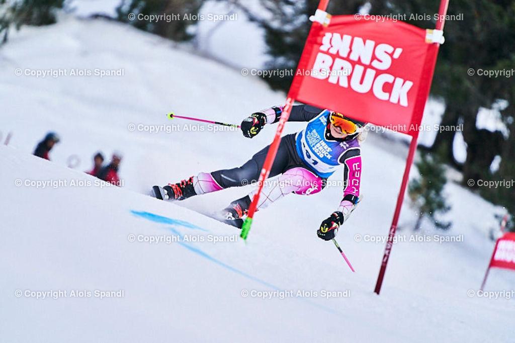 ALS5825_WWMG_GS-II_C | (C) FotoLois.com, Alois Spandl, WinterWorldMastersGames 2020 Innsbruck, Giant Slalom-II Gruppe C Damen, Patscherkofel Olympiaabfahrt, Mi 15. Jänner 2020.
