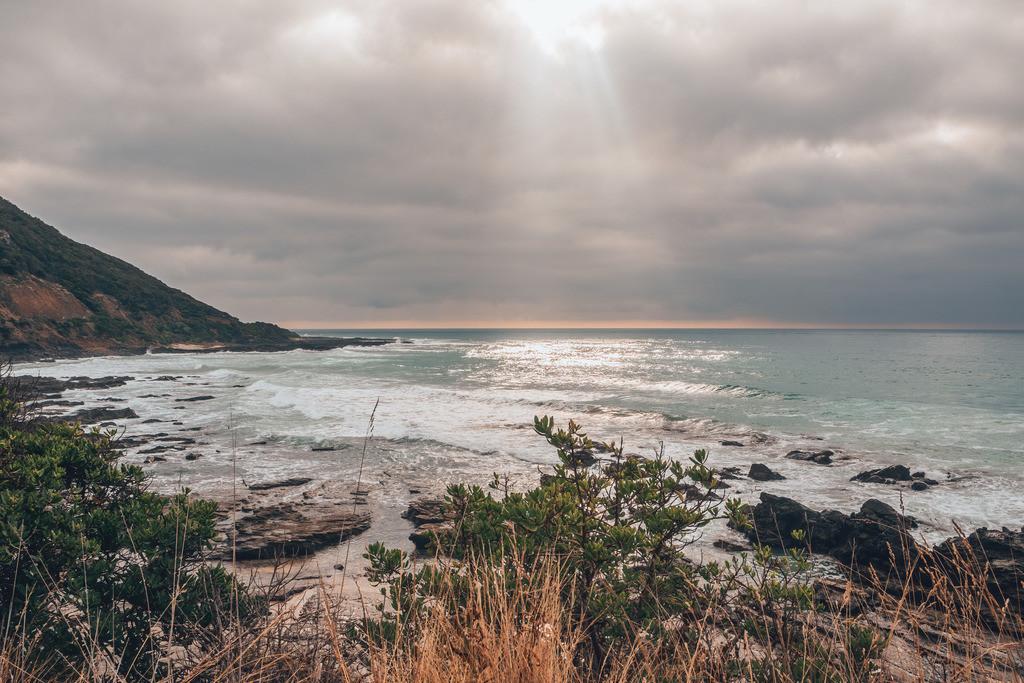 Great Ocean Road Sonne Wolken | Great Ocean Road Sonne Wolken