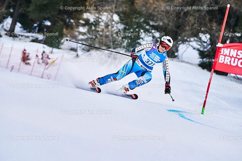 ALS5504_WWMG_GS-II_C | (C) FotoLois.com, Alois Spandl, WinterWorldMastersGames 2020 Innsbruck, Giant Slalom-II Gruppe C Damen, Patscherkofel Olympiaabfahrt, Mi 15. Jänner 2020.