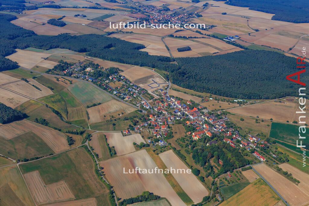 rauschenberg-dachsbach-2016-206 | Luftbild von Rauschenberg Dachsbach - Luftaufnahme wurde 2016 von https://frankenair.de mittels Flugzeug (keine Drohne) erstellt - die Geschenkidee