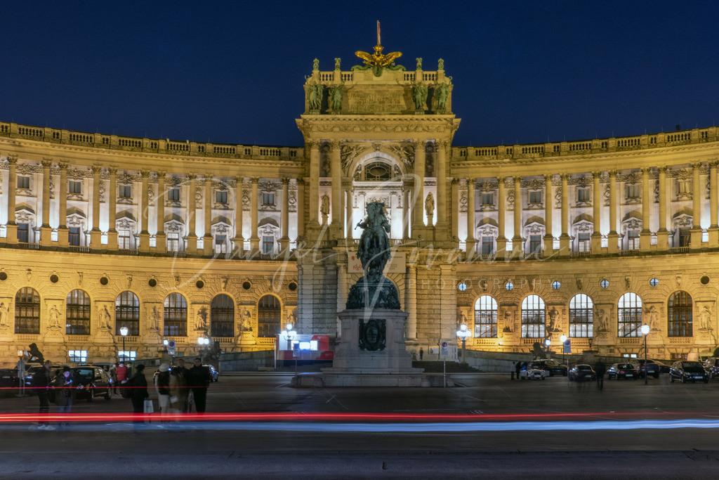 Heldenplatz | Der Heldenplatz in Wien