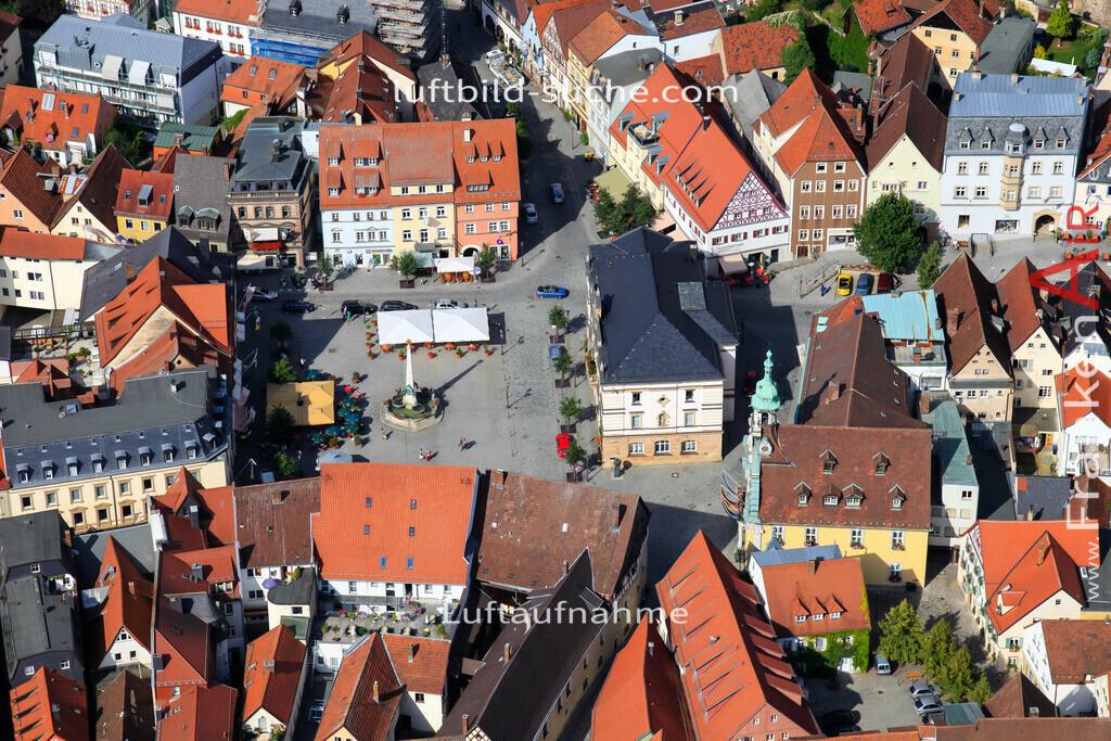marktplatz-kulmbach-2009-1460 | Luftbild von Marktplatz Kulmbach - Luftaufnahme wurde 2009 von https://frankenair.de mittels Flugzeug (keine Drohne) erstellt - die Geschenkidee
