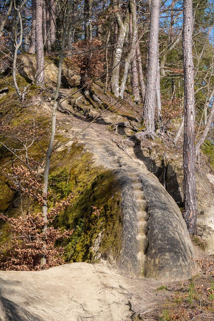 Drachenrücken | Stufen im Naturstein
