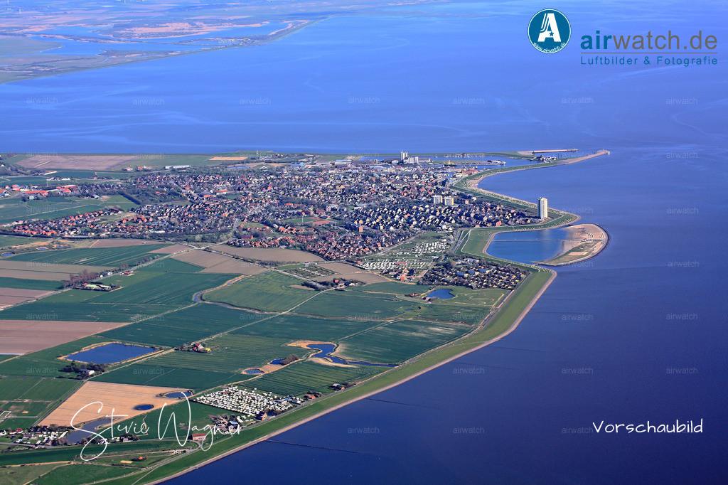 Nordsee, Schleswig- Holstein, Kreis Dithmarschen, Urlaubsort Buesum | Nordsee, Buesum • max. 4272 x 2848 pix -  Luftbild, Luftaufnahme, aerophoto, Luftbildfotografie, Luftbilder