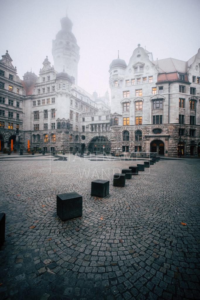 Leipzig Burgplatz Nebel (3)