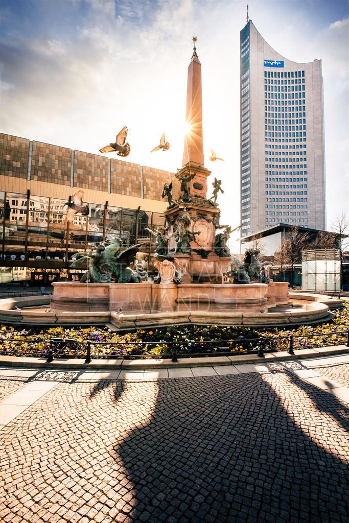 Mendebrunnen Augustusplatz
