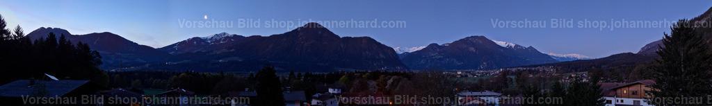 Mondlicht über Alpbach und Münster | Klare Luft im April 2020