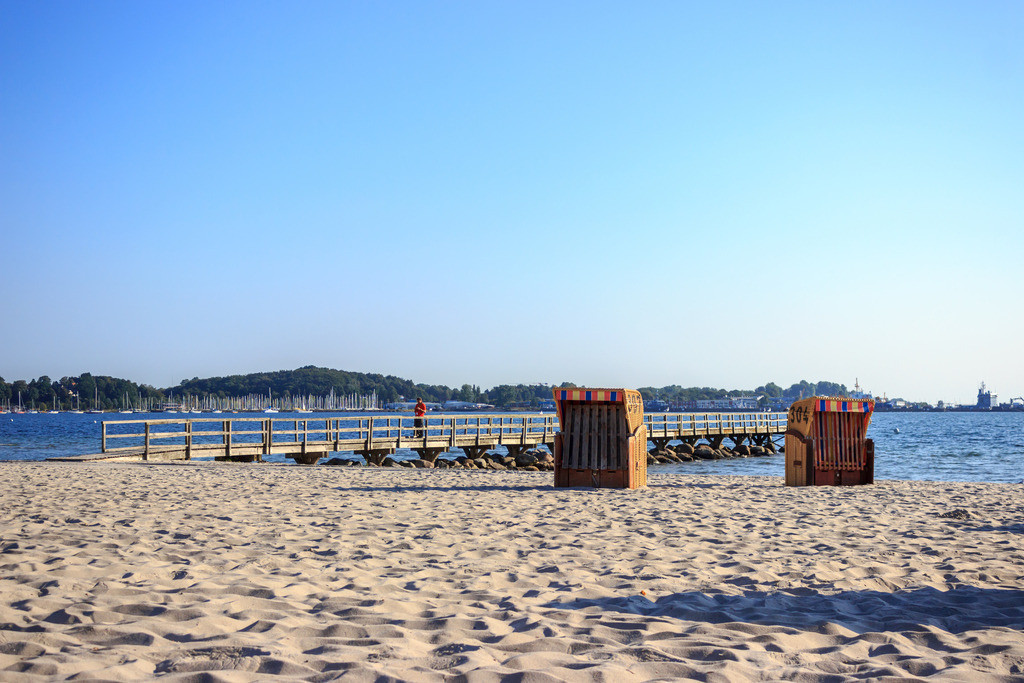 Strandkörbe an der Ostsee | Strandkörbe am Ostseestrand
