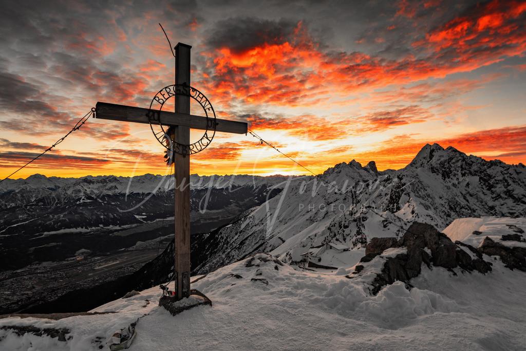 Nordkette | Sonnenuntergang auf der Hafelekarspitze