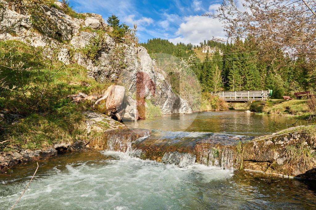 Herbstlandschaft im Tannheimertal, Tirol, Österreich