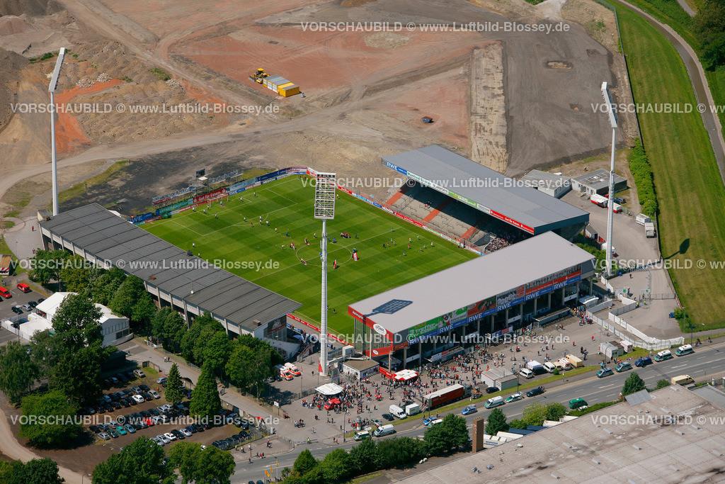 ES10058516 | RWE- Stadion Hafenstrasse,  Essen, Ruhrgebiet, Nordrhein-Westfalen, Germany, Europa, Foto: hans@blossey.eu, 29.05.2010