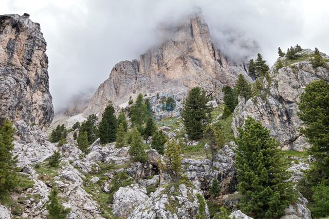 Sellamassiv Sella Ronda Landschaft   ITA, Italien, Südtirol, Dolomiten, Sella Rondo, 15.07.2014, Sella Rondo Landschaft