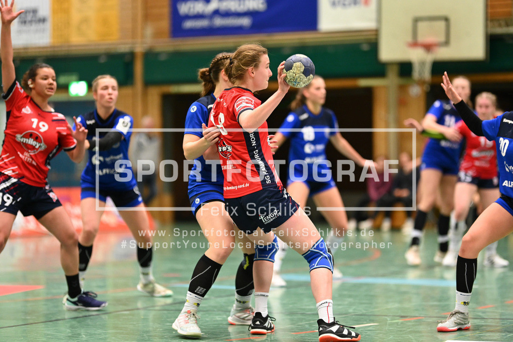 Handball I Bundesliga-Quali (wjA) I  Buxtehuder SV (wjA)- SG Hamburg-Nord I 11.10.2020_00108 | ; Jugend Bundesliga (wjA) I Buxtehuder SV (wjA)- SG Hamburg-Nord am 11.10.2020 in Buxtehude  (Sporthalle Kurt-Schuhmacher Strasse), Deutschland