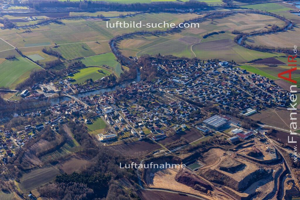 marktzeuln-19-31 | aktuelles Luftbild von  Marktzeuln - Luftaufnahme wurde 2019 von https://frankenair.de mittels Flugzeug (keine Drohne) erstellt.
