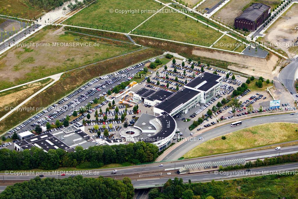 2012-08-28 Fotoflug Dortmund | Luftbildflug Dienstag, 28. August 2012 Deutschland, Nordrhein-Westfalen, Dortmund, Hörde, BMW Niederlassung. Foto: Michael Printz / PHOTOZEPPELIN.COM