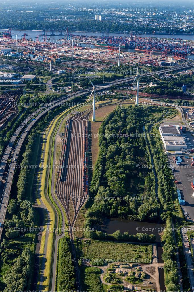 Hamburg Altenwerder Rangierbahnhof_ELS_0687030617 | Hamburg - Aufnahmedatum: 01.06.2017, Aufnahmehöhe: 503 m, Koordinaten: N53°29.503' - E9°55.021', Bildgröße: 4912 x  7360 Pixel - Copyright 2017 by Martin Elsen, Kontakt: Tel.: +49 157 74581206, E-Mail: info@schoenes-foto.de  Schlagwörter:Hamburg,Luftbild, Luftbilder, Deutschland