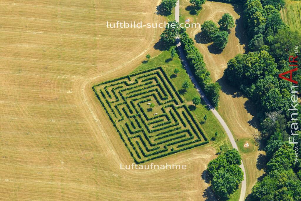 labyrinth-bad-windsheim-2015-4696 | Luftbild von Labyrinth Bad-windsheim - Luftaufnahme wurde 2015 von https://frankenair.de mittels Flugzeug (keine Drohne) erstellt - die Geschenkidee