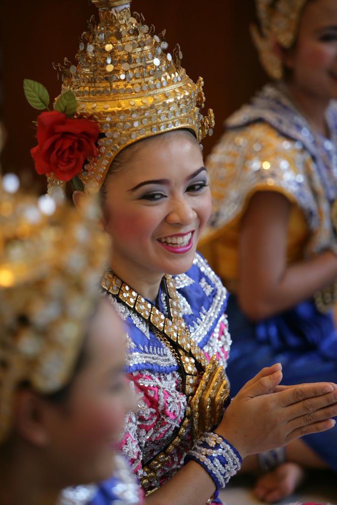 Bangkok | Thailand, Bangkok, Tänzerinnen,