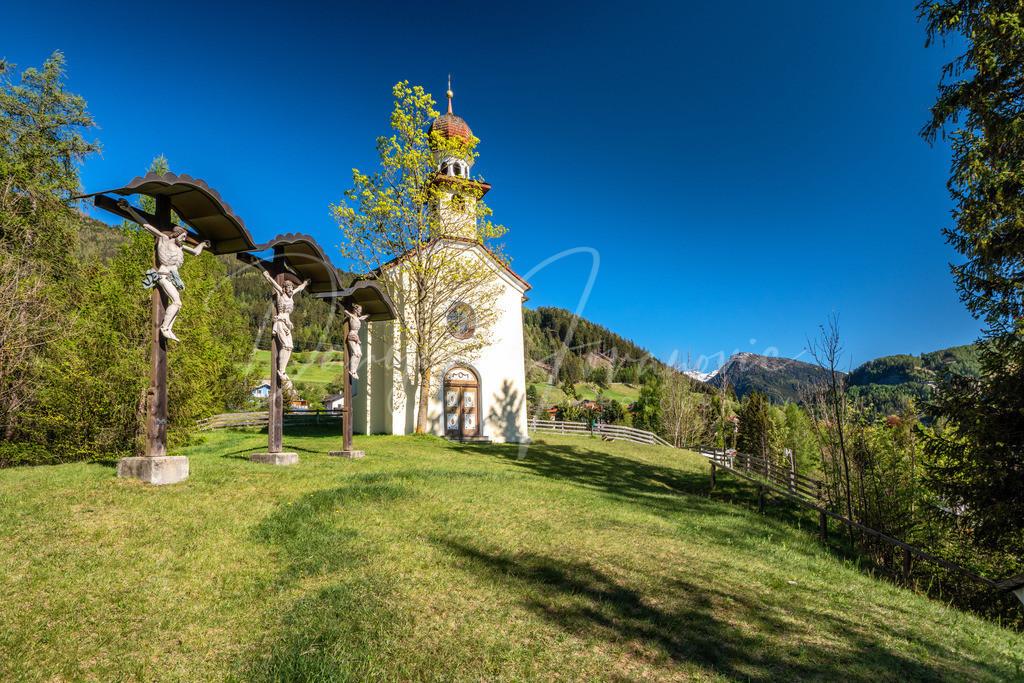 Kalvarienberg   Die Kalvarienbergkapelle Kranebitten in Steinach am Brenner