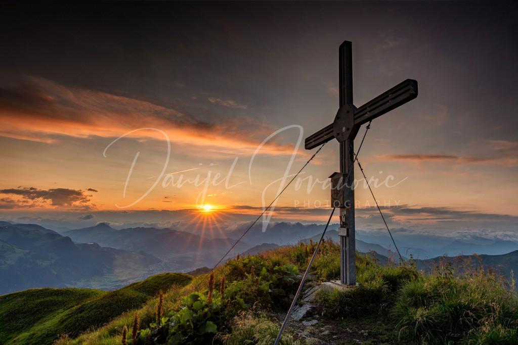 Großer Gebra | Sonnenuntergang am Großen Gebra in Kitzbühel