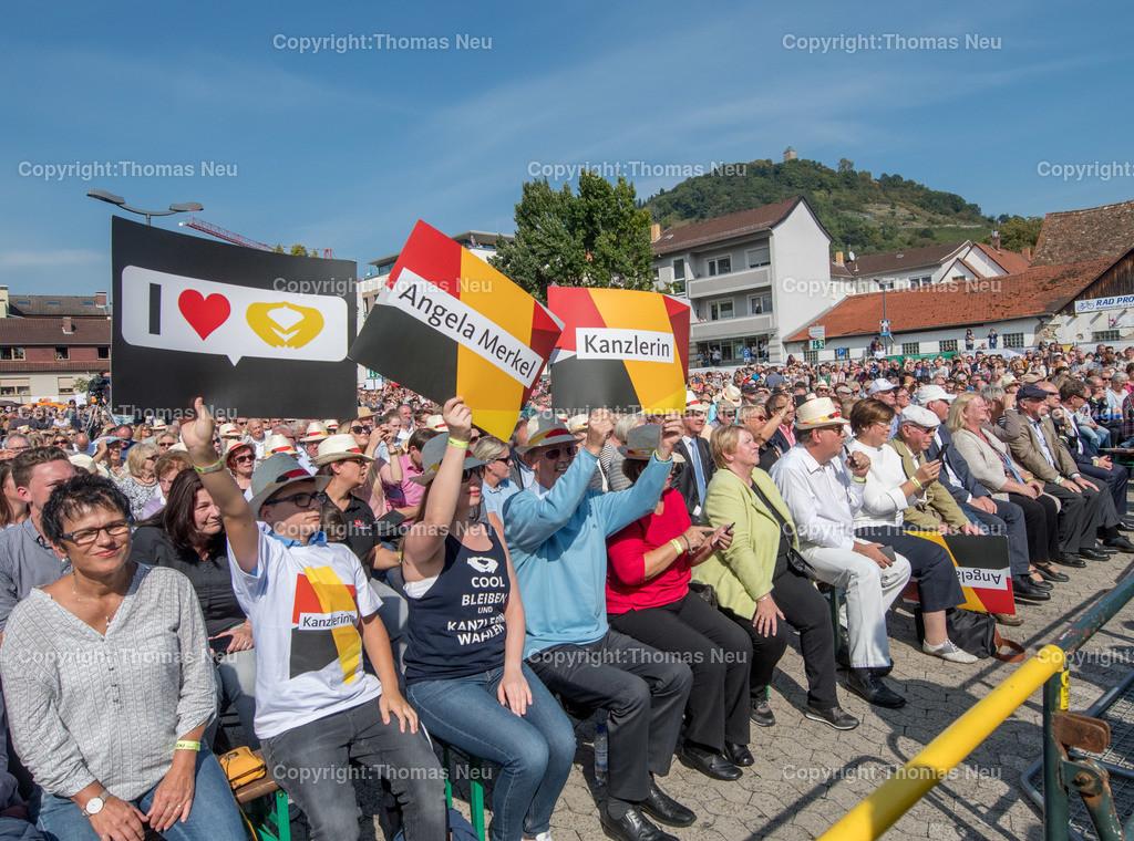 DSC_7574 | Heppenheim, Wahlveranstaltung, CDU, Angela Merkel auf dem parkhof, , ,, Bild: Thomas Neu