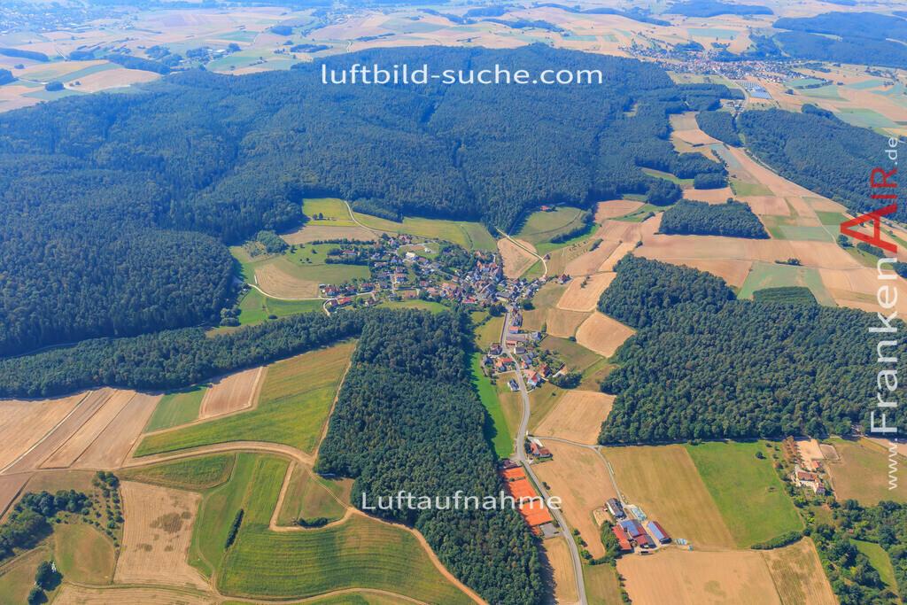 weipelsdorf--2016-237 | Luftbild von Weipelsdorf  - Luftaufnahme wurde 2016 von https://frankenair.de mittels Flugzeug (keine Drohne) erstellt - die Geschenkidee