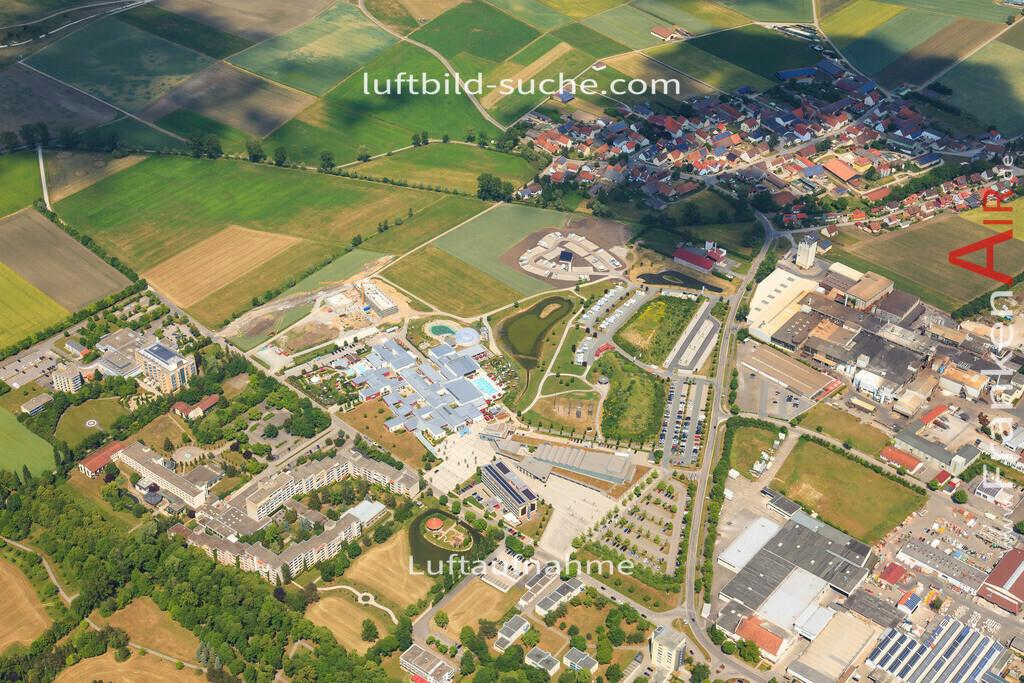 franken-therme-bad-windsheim-2015-1408 | Luftbild von Franken-therme Bad-windsheim - Luftaufnahme wurde 2015 von https://frankenair.de mittels Flugzeug (keine Drohne) erstellt - die Geschenkidee