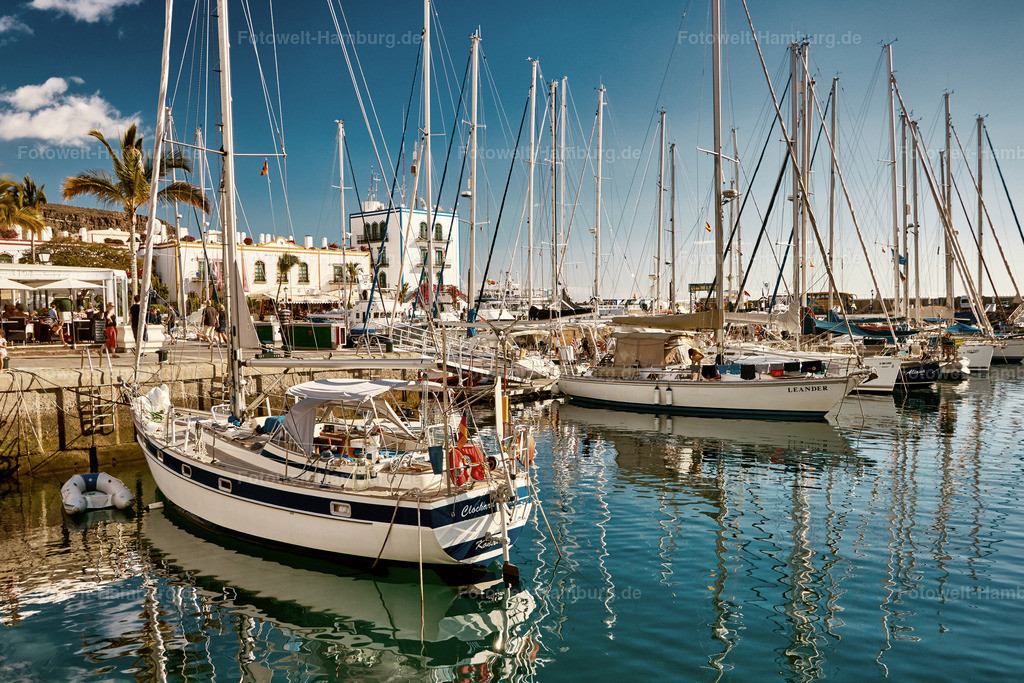 Jachthafen von Puerto de Mogán