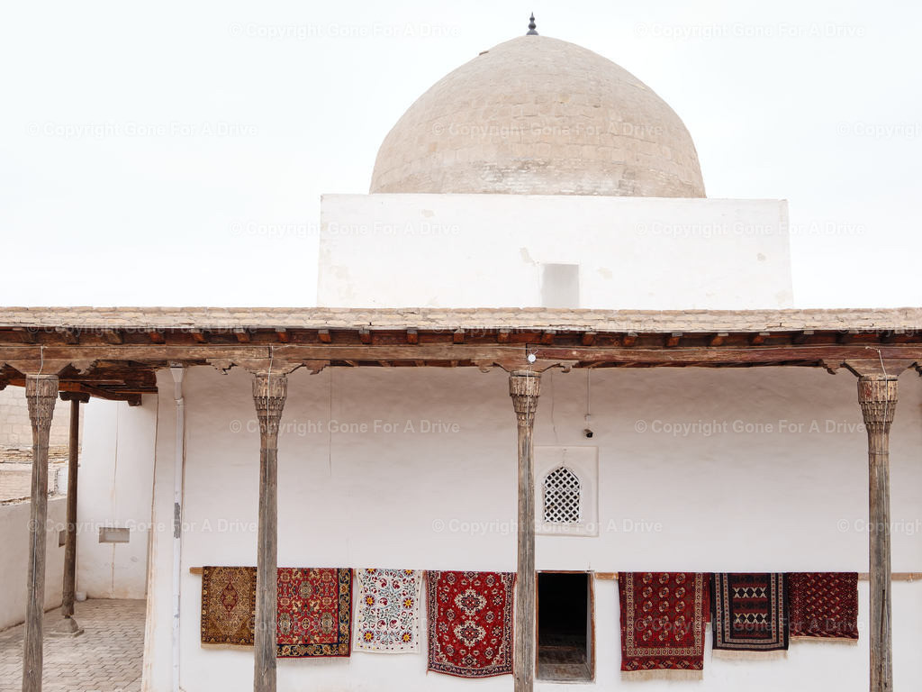 Usbekistan | Gebäude in der Altstadt Itschan-Kala in Chiwa