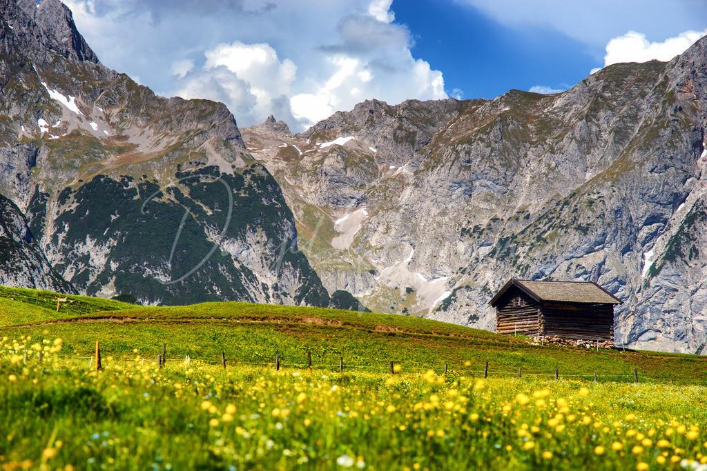Karwendel | Das Karwendelgebirge im Sommer