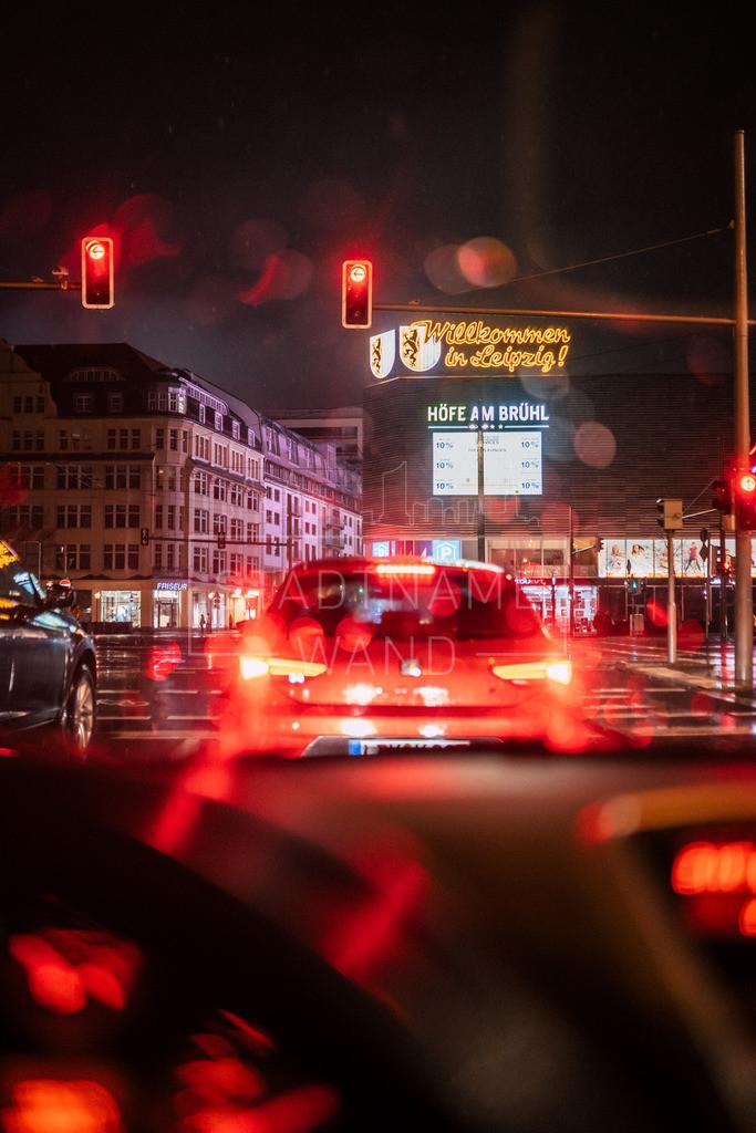 Nachts im Regen Leipzig (5)