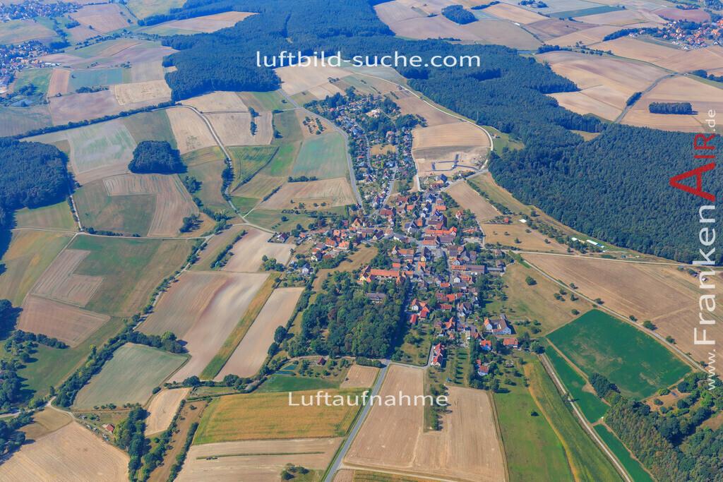 rauschenberg-dachsbach-2016-202 | Luftbild von Rauschenberg Dachsbach - Luftaufnahme wurde 2016 von https://frankenair.de mittels Flugzeug (keine Drohne) erstellt - die Geschenkidee