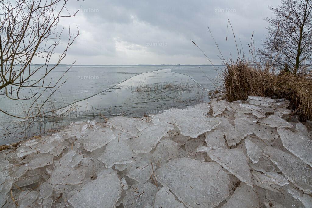 130201_1353-5943-A | Eisschiebung am Ostufer der Müritz. Teilen erwünscht, verändern untersagt!