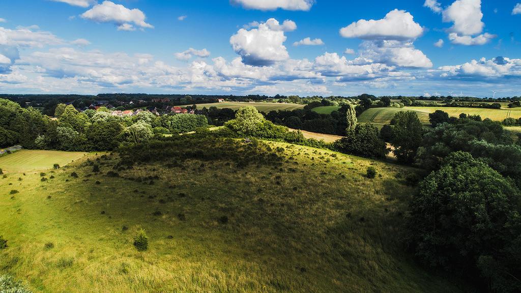 Hügel im Schatten | Wolkenschatten, Wilde Weide im Stiftungsland Barnitz, Stormarn
