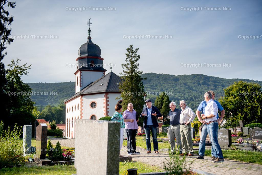 DSC_3211 | Lautertal, Friedhof, Reichenbach, CDU Ortsbegehung, ,, Bild: Thomas Neu