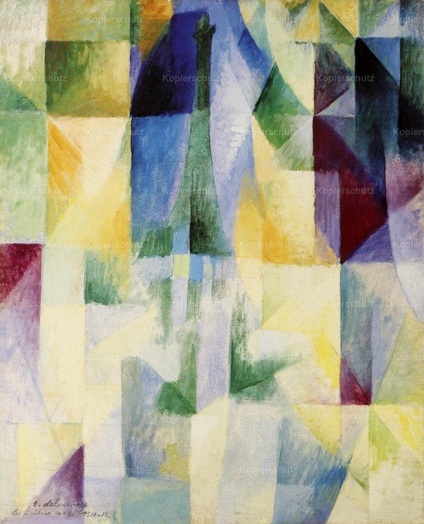 Delaunay_ Robert (1885-1941) - The Windows on the City no.3 1912