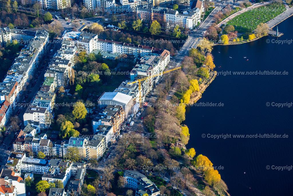 Hamburg_Uhlenhorst_Schwanenwiek_ELS_4931200421 | HAMBURG 20.04.2021 Wohngebiet