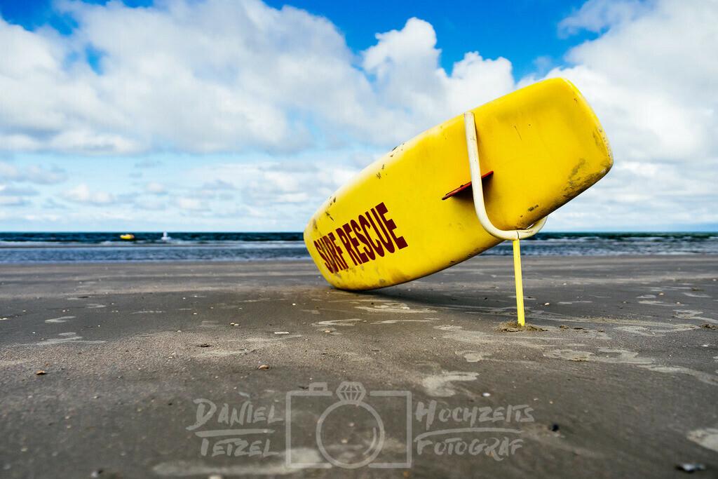 Rescue Beach   Rettungs Surfbrett am Strand