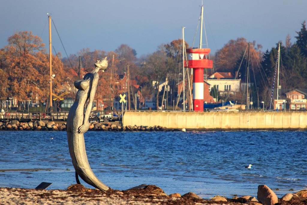 Strand in Eckernförde | Strand in Eckernförde im Herbst
