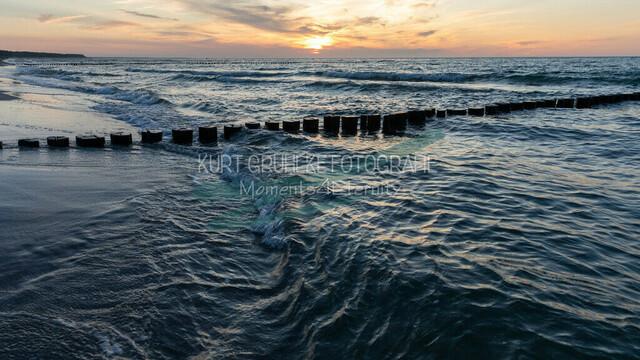 Ostsee, Sonnenuntergang an der Ostsee, Zingst | Sonnenuntergang